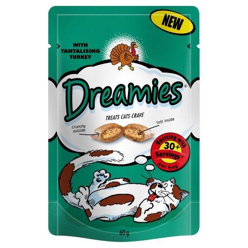 Dreamies Cat Treats - Tantalising Turkey reduced from £1 to 25p INSTORE @ Asda
