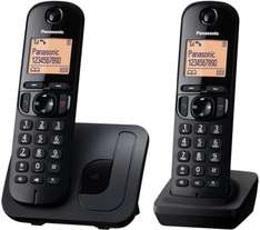 PANASONIC KX-TGC212EB DECT Cordless Phone - Twin £24.99 Delivered @ Currys was £44.99