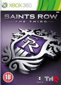 Saints Row: The Third (Xbox 360) only £2.00 delivered @ GAME (preowned)
