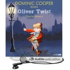 Dominic Cooper reads Oliver Twist (Famous Fiction) [Audio Download] FREE at Amazon