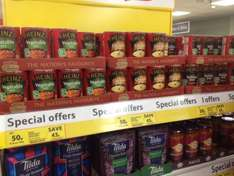 Heinz Big Size Soups 2 for £1 at Tesco