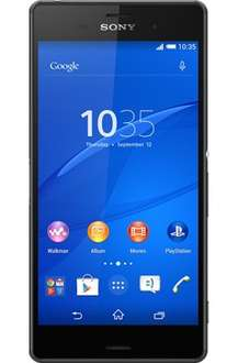 three sony z3 £49 upfront payment £26 monthly = £673 over 24 months @ Three
