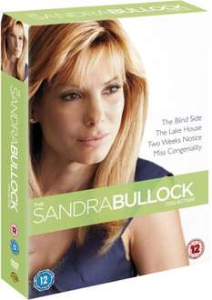 Sandra Bullock Box Set: 4 films for £4.20 from Amazon (free delivery £10 spend/prime)