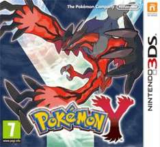 3DS Pokemon Y £22 @ GAME (preowned)