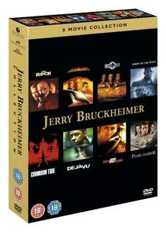 Jerry Bruckheimer Action Collection - 8 films on DVD for £9.78 at Amazon  (free delivery £10 spend/prime)