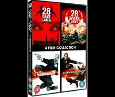 28 Days Later/28 Weeks Later/The Transporter/Transporter 2 DVD box set £3 delivered from Tesco Direct