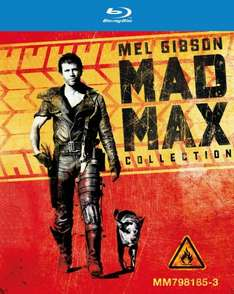 Mad Max trilogy Blu Ray box set £8.50 at Amazon  (free delivery £10 spend/prime)