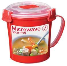 Sistema Soup Mug, 656 ml, £3.00 & FREE Delivery in the UK on orders over £10 @ amazon