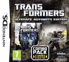 Transformers: Ultimate Autobots Edition (combo pack, 2 games) (Nintendo DS) only £4.35 @ Amazon (£10 spend / prime)