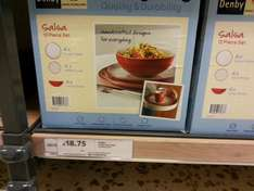 Denby Everyday Red 12 piece set £18.75 @ Tesco in-store