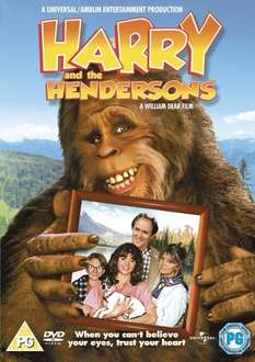 Harry And The Hendersons - 2010 Re-Issue [DVD] £3.50 at Amazon   (free delivery £10 spend/prime)