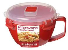 Sistema Noodle Bowl (Better For Porridge)  @ Amazon now also £3   (free delivery £10 spend/prime)