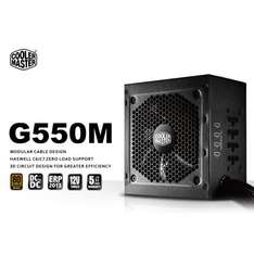 Cooler Master GM-Series G550M 550W PSU - 80+ Bronze £35.46 + £1.48 Postage or Collect for Free! @ SCAN