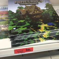 Minecraft calendar reduced to clear 50p @ Sainsburys