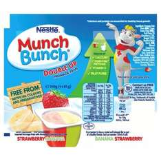 Munch Bunch Drinky Strawberry 6X90g  99p they are mostly 2 for £3 loads other munch bunch yogurts are half price . @ Tesco