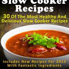 30 Slow Cooker recipes Free at Amazon Kindle App/ kindle device