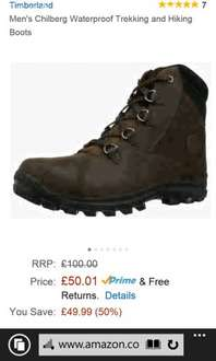 Timberland earthkeeper chillberg men boots. VARIOUS SIZES £50.01 @ AMAZON. (poss. 20% off)