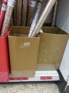 3m, 4m and 10m wrapping paper - 20p! @ Sainsburys