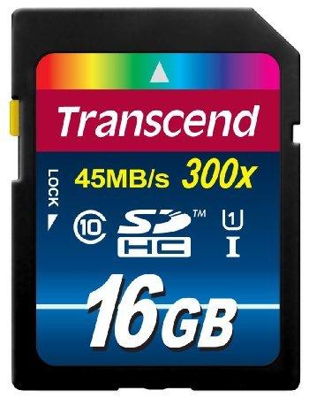 Transcend 32GB Premium SDHC Class 10 UHS-I 300x  various sizes