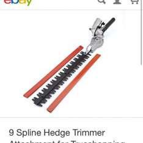Hedge Trimmer attachment £34.99 @ Ebay / Trueshopping