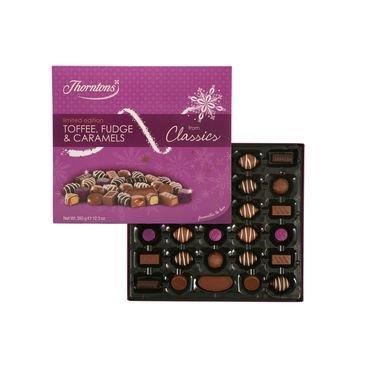 Thornton's Toffee, Fudge and Caramels 350g Asda £1.25
