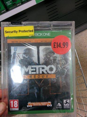 Metro Redux Xbox One Sainsburys £14.99