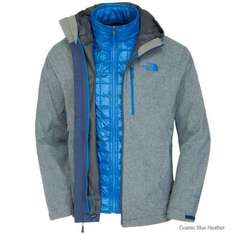 North Face Mens Thermoball Triclimate jacket £161.95 from e-outdoors