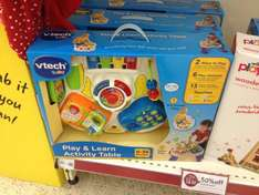 Play and learn activity table £10 instore @ Wilkos