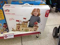 Wooden castle £10 @ Wilko