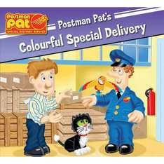 Postman Pat Special Delivery Service Books £1.00 @ poundland