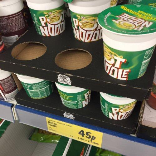 Pot Noodle (all flavours) 45p @ Lidl