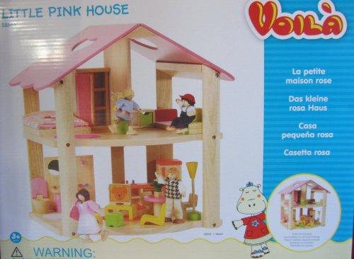 Voila little wooden dolls house £13.58  @ Amazon