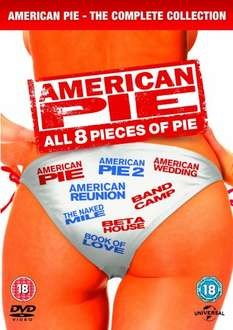 American Pie 1-8 DVD £9.99 @ Amazon (free delivery £10 spend/prime)