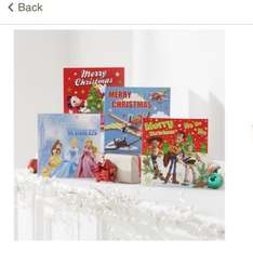 Disney christmas cards pack of 30 only 50p!! @ Tesco