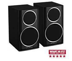 WHARFEDALE DIAMOND 121 Black Speakers Per Pair £99.95 @ richersounds (online/in-store) please watch video - link in comments