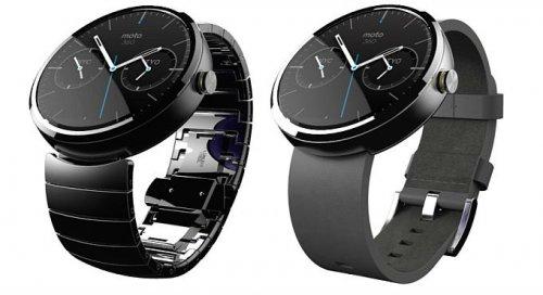 Motorola Moto 360 Smartwatch- Light Chrome/Stone Leather Strap £181.48 @ Amazon