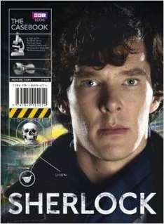 Sherlock: The Casebook (Hardcover) just £3 reduced from £15  (free delivery £10 spend/prime)
