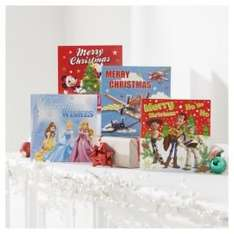 Disney Bumper Christmas Cards, 30 Pack 50p at tesco direct free to collect