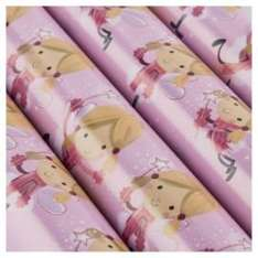 Tesco Chilli Fairy Christmas Wrapping Paper, 10m £1 @ tesco direct