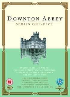 Dowton Abbey series 1-5 DVD box set £26.99 (£34.99 elsewhere) from Xtra-Vision