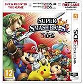 Super Smash Bros 3DS + TWO amiibos £42 delivered using code @ Tesco Direct