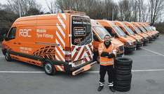 Free mobile tyre fitting in some areas for RAC customers