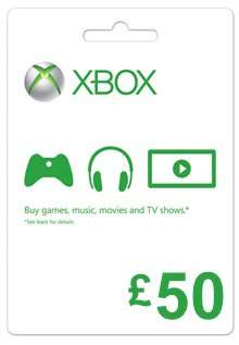 £40 for £50 Xbox gift voucher for *new* Tesco direct customers using code
