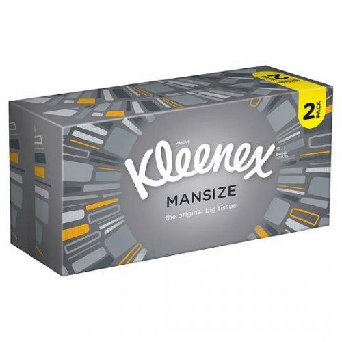 Kleenex mansize tissues double pack - £1.75 @ Tesco