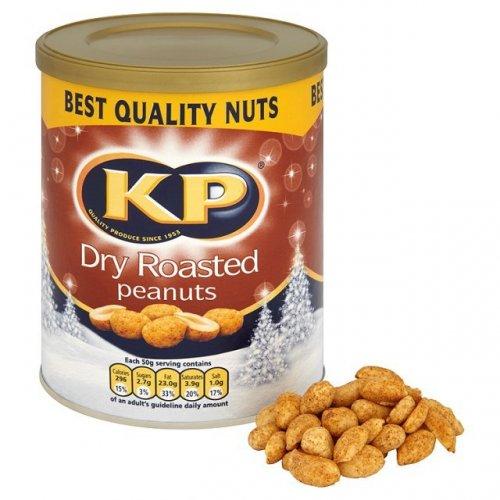 KP Dry Roasted Peanuts 450g TUB Instore £1.00 @ ASDA