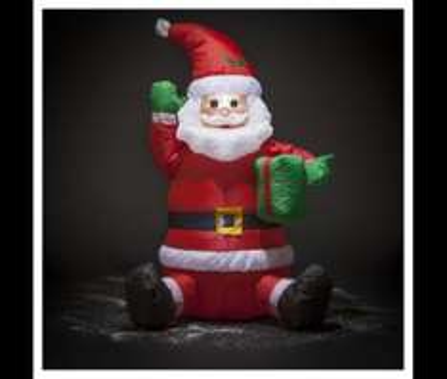 4FT Inflatable Santa, Snowman or Christmas Tree £12.50 Each. Tesco Direct.