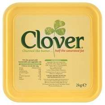2kg clover butter £2.75 @ Heron