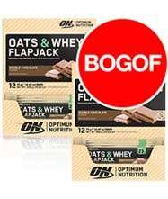 Optimum Nutrition Oats & Whey Flapjack Buy One Get One Free £17.99 @ Discount Supplements
