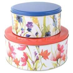 ** Meadow Flower Cake Tins, 2 Pack only £1 @ Tesco Direct **