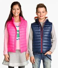 Padded Body Warmer (various colours) £2.99 (free delivery on £6 spend with code) @ H&M